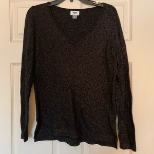 Black and gold Old Navy sweater